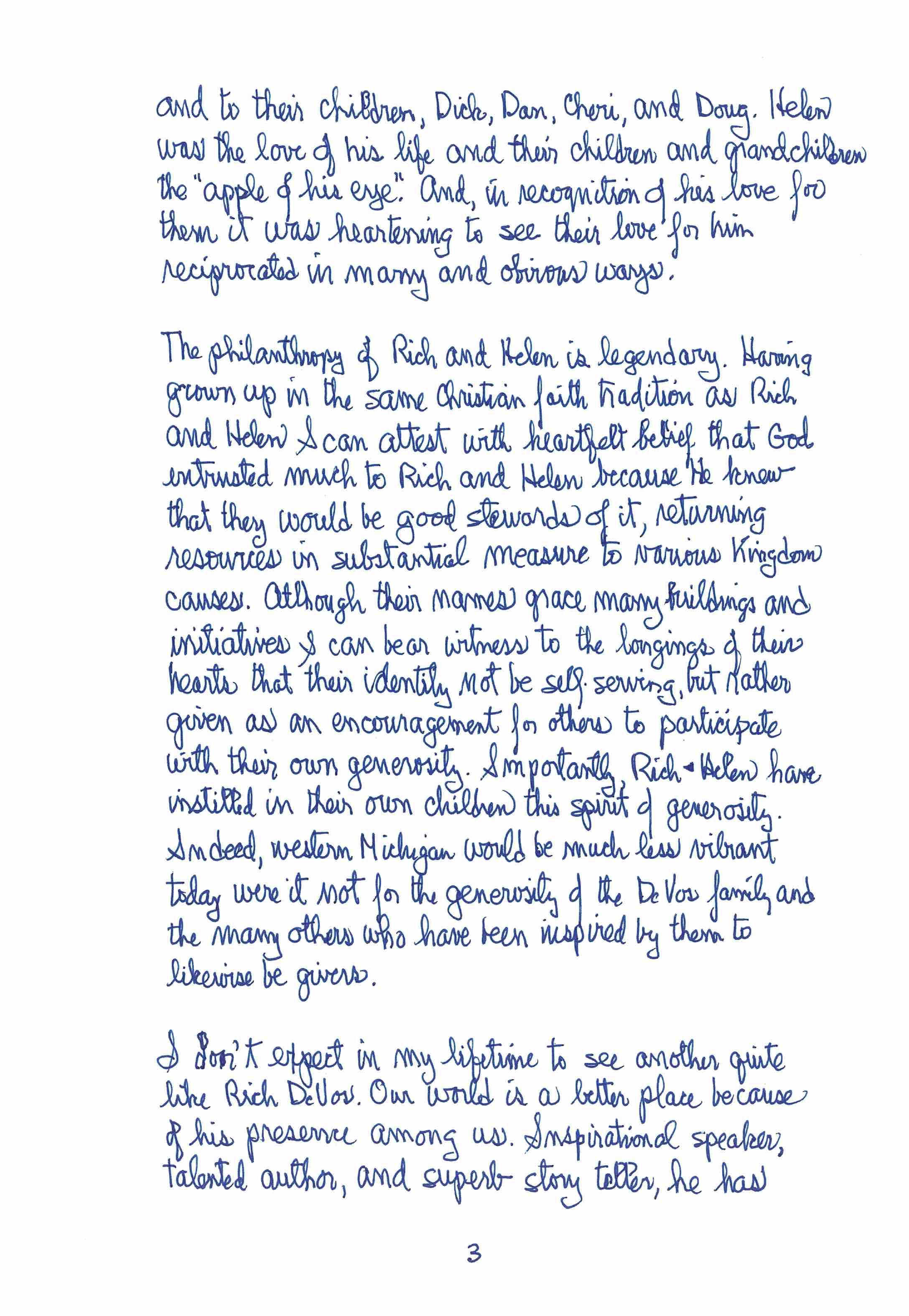 Letter From Dr. James E. Bultman